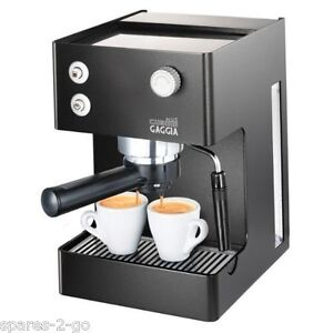 Gaggia RI8151/60 Black Espresso Cubika Plus Coffee Machine Machine Maker