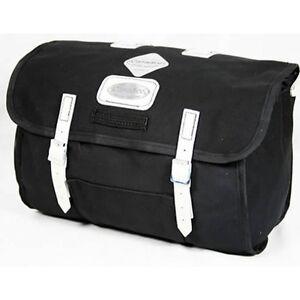 Carradice Junior Saddle Bag 9Ltr Black/White Straps Made In UK Superb Quality
