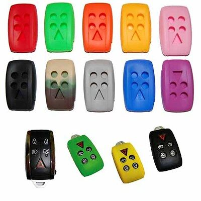 2006 - 2013 Jaguar With Push Button Start Remote Smart Key Chain Cover