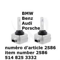 D3C HID Xenon Bulbs Lamps 35W AC 10000K BMW Benz Audi Porsche