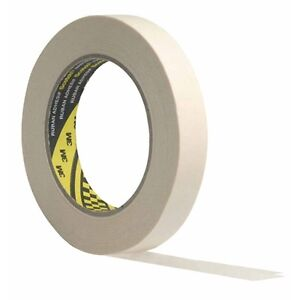144-25mm-x-50m-Inch-Narrow-Masking-Tape-Paint-3M-Scotch-Multi-Purpose-Decorators