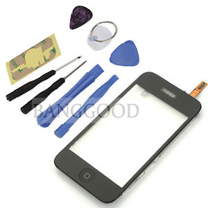 Mid-Frame-Screen-Digitizer-Replacement-Assembly-Home-Button-Tools-For-iPhone-3GS