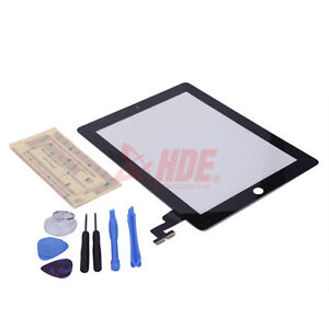 Touch Screen Glass Digitizer Replacement for Apple iPad-2 3 4 Mini w/ Repair Kit