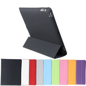 The New iPad 3 /iPad 2 Ultra Slim Magnetic PU Leather Case Smart Cover Mul-Color