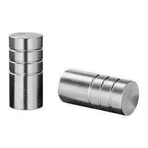 Ikea RULL Knob Handle - Aluminum (Set of 2)