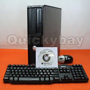 Dell Optiplex 755 Desktop Computer Windows 7 Win7 Core 2 Duo 3.16Ghz 4GB / 1TB