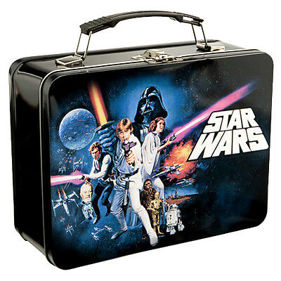 STAR WARS EP4 NEW HOPE  COLLECTIBLE TIN / TOTE / LUNCHBOX