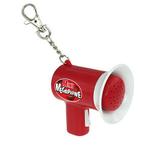 Mini-Megaphone-Keyring-Voice-Amplifier-Key-Chain-Fob-LOUD