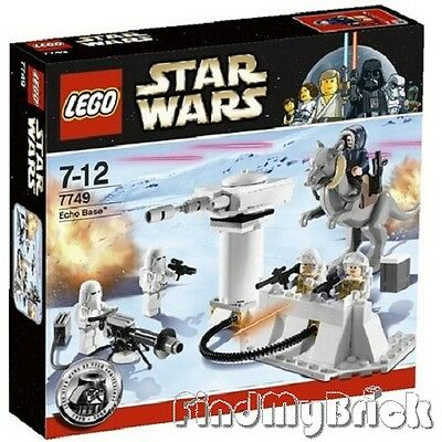 Lego Star Wars 7749 Echo Base 5 Minifigures & Animal Tauntaun