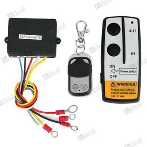 12V-Winch-Wireless-Remote-Control-Kit-for-Truck-Jeep-ATV-Warn-Ramsey