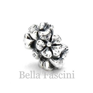 Bella Fascini FLOWER BAND Solid Sterling Silver European Charm Bead Spacer F-03