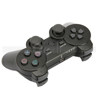 Wireless Bluetooth Game Controller for Sony PS3 PS 3 Black   on Rummage