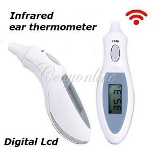 Digital-Infrared-IR-LCD-Forehead-Body-Temperature-Ear-Thermometer-Baby-Kid-Adult