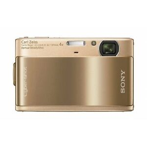 Sony Cybershot DSC-TX1, 10.2 Megapixel, 4x Optical Digital Camera (Gold)