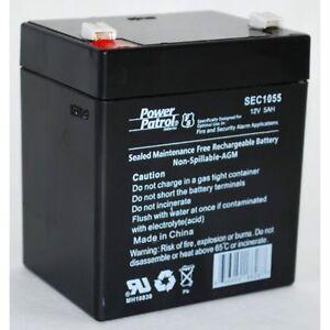 SLA-Replaces-Zeus-PC5-12XBEBALT2-Chamberlain-Garage-Door-Opener-Battery-12V-5AH