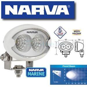 narva led marine worklight work light flood beam 12 12v 24v waterproof 72446w. Black Bedroom Furniture Sets. Home Design Ideas