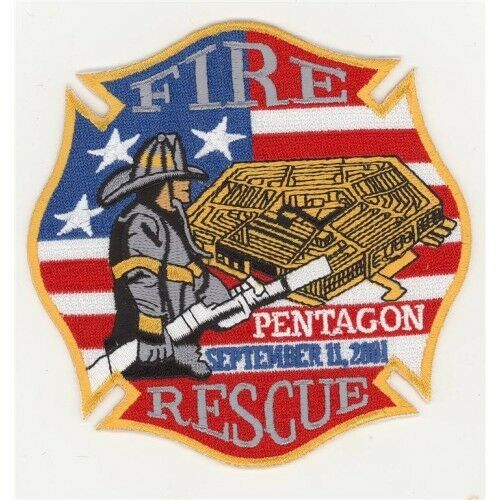 Pentagon Fire Rescue Patch 91101