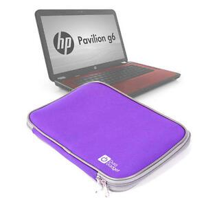 Purple 16 Inch Neoprene Laptop Case/Sleeve/Bag/Holder For HP Pavilion G6