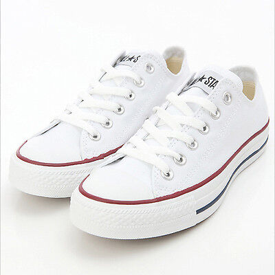 CONVERSE ALL STAR OX LOW OPTICAL WHITE Unisex Casual Shoes (M7652)