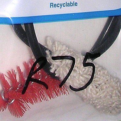 Sax Neck Cleaner (nylon Brush W/ Cotton Cloth Swab) By Venture (mcmillan Music).