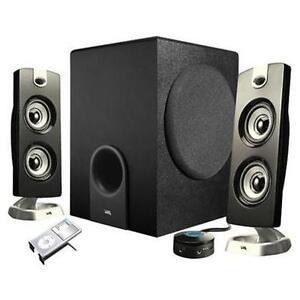 56% Savings! NEW Cyber Acoustics Platinum CA-3602 Speaker System