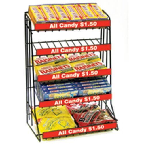 Theater Room Snack Bar: Candy Display
