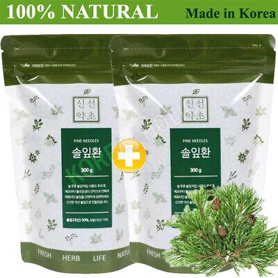 100% Natural Pine Needle Pills 300g 2EA Medicinal Korean Herbal Pills Made Korea