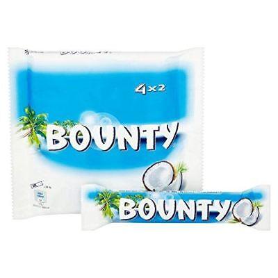Bounty Coconut and Chocolate (4 Pack) 228g - UK/British