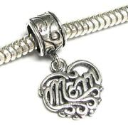 Sterling Silver Mom Bead