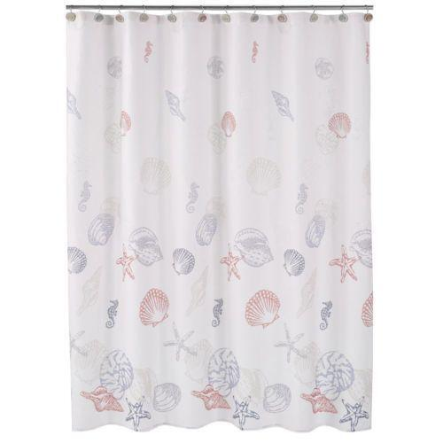 Sea Life Shower Curtain Ebay