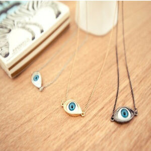 Retro-Punk-Rock-Evil-Eye-Chain-Pendant-Necklace-Eyes-Headband-Hair-Cuff-Choker