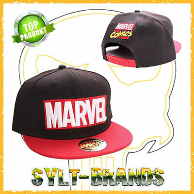 Marvel Logo Cap Avengers Endgame Snapback Kappen Baseball-Caps - Marvel Hat