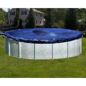 Robelle Super Above Ground Winter Pool Cover For Round Pools