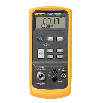Fluke 717 100g Pressure Calibrator -12 To 100 Psi .05 Accuracy