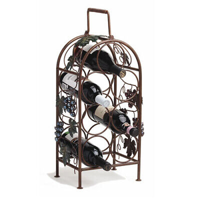 Twine Grapevine Wine Rack  ~~Holds 7 Bottles~~  FREE SHIPPING ~NEW~
