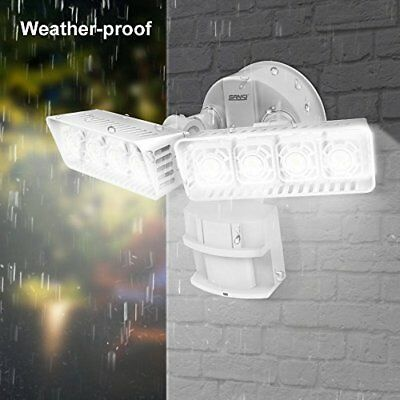SANSI LED Outdoor Motion Sensor Security Light 3400lm Bright 30W 250W Equiv. WR