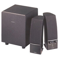 Insignia 2.1 Powered Computer Speakers Speaker system with subwo