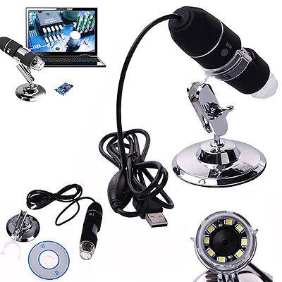 2MP 1000X 8 LED USB Microscopio Digitale Endoscopio Fotocamera Con Zoom