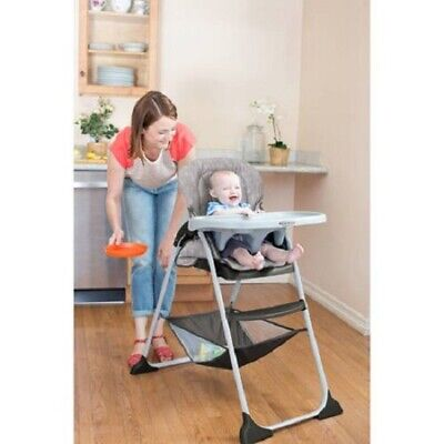 Baby Infant High Chair Reclining Recline Feeding Eating Seat Child Kid Foldable