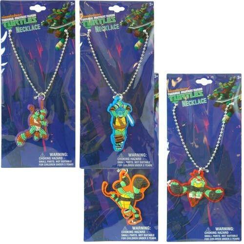 Teenage-Mutant-Ninja-Turtles-Raphael-Charm-Dog-Tag-Necklace-New-in-Package