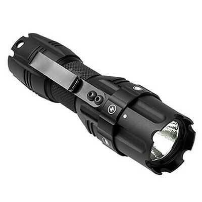 NcStar Pro Series LED 250 Lumens Tactical Compact Flashlight w/ Strobe Features