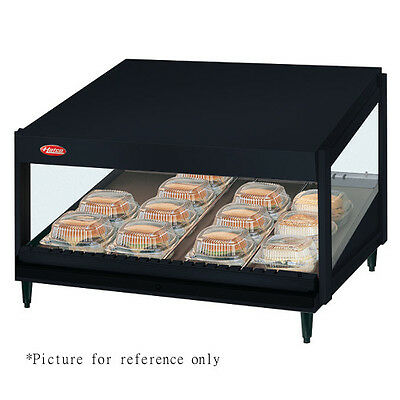 Hatco Grsds-52 Countertop Display Warmer With 10 Divider Rods And Slanted Shelf