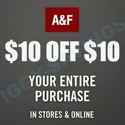 Abercrombie & Abercrombie Kid COUPON CODE $10 off $10 SALE CLEARENCE✔Ex12/30/20