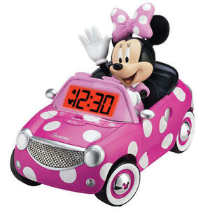 NEW: Minnie Mouse Bow-tique Alarm Clock -