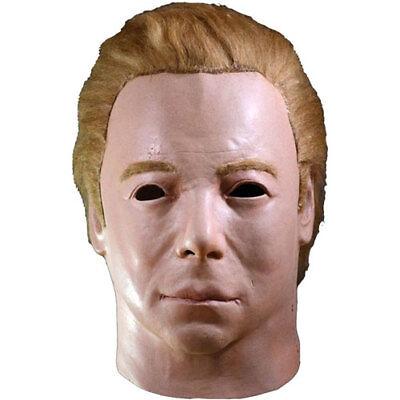 Star Trek The Original Series Captain Kirk 1975 Mask (For Adults) Trick or Treat - Captain Kirk Mask Halloween