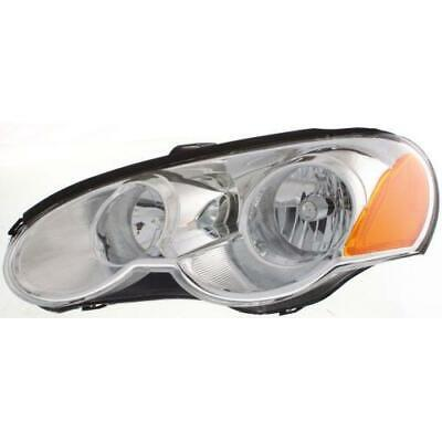 SEBRING 03-05 HEAD LAMP LH, Assembly, Halogen, Coupe
