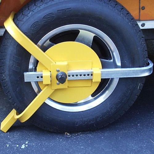 Tractor Tire Boots : Trailer wheel lock ebay