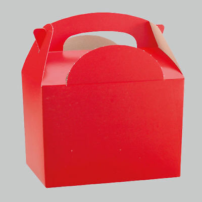 Red Party Box - Great for Baby Showers, Gift Box, Wedding Favours, Parties