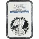 American Eagle Proof 2015 Silver Bullion Coins