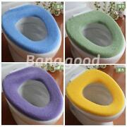 Toilet Washable Cloth Seat Cover